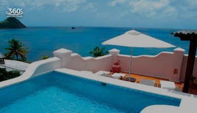 Cap Maison – 3 BR Oceanview Villa Suite with Pool & Roof Terrace 3D Model