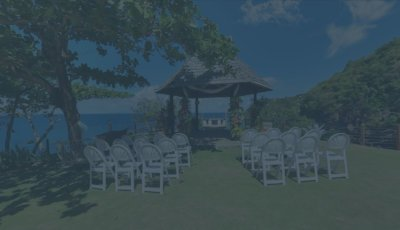 Cap Maison – Gazebo – Wedding Venue 3D Model