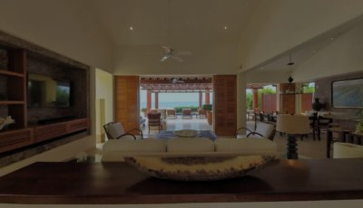 4 BR Beachfront Villa 3D Model