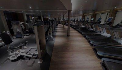 Fitness Center 3D Model