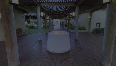 Sea Breeze Hallway 3D Model