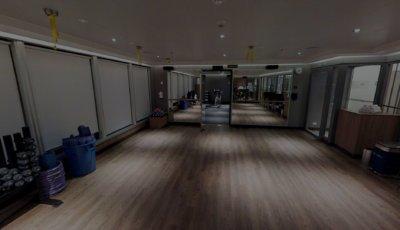 Yoga and Indoor Cycling Studio 3D Model
